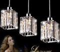 New 2014  Modern Crystal Bar  Pendant Lamp led bulb lights E27 indoor lighting With light 110v/220V Free shipping LPL2-ST3