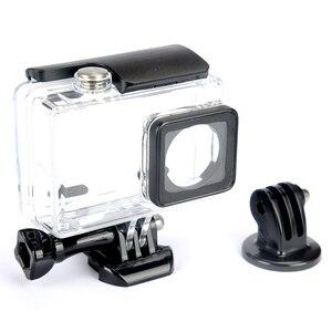 Image 4 - KingMa 45m 다이빙 방수 케이스 방수 하우징 샤오미 Xiaoyi 이순신 액션 카메라 II 2/샤오미 이순신 4K 스포츠 카메라 2