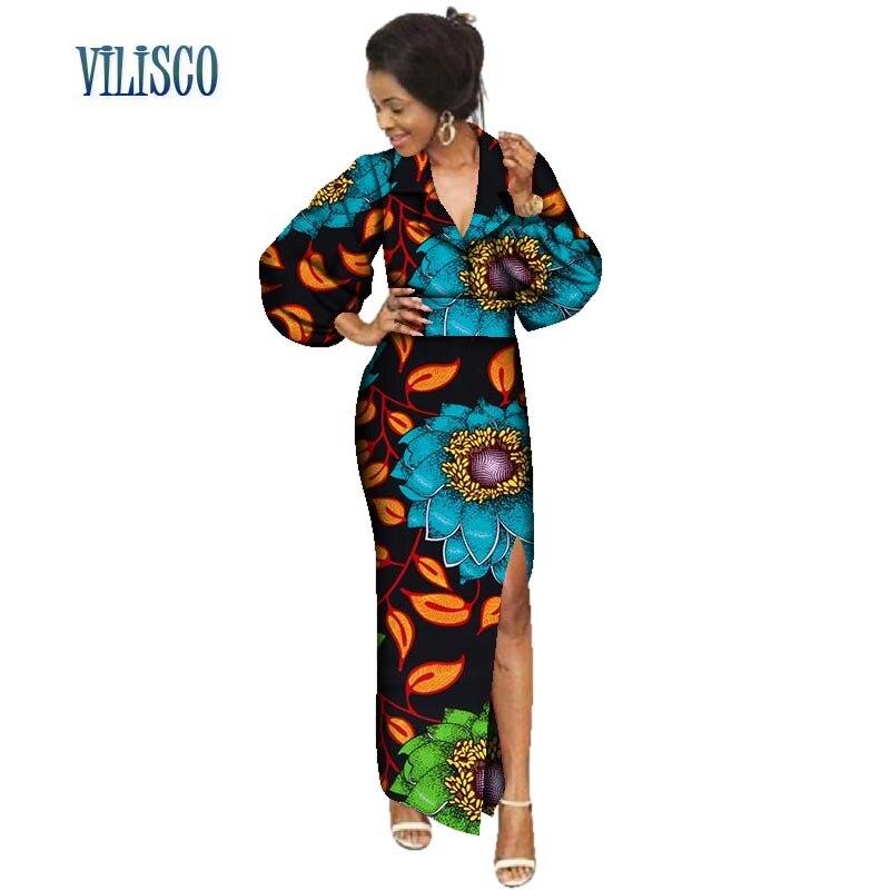 Print Kleider African Wax 100Baumwolle f lKJcF1