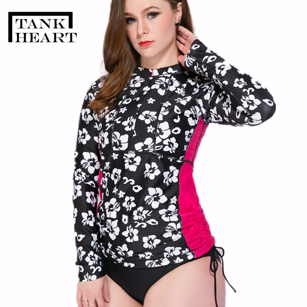 60863ca1b15 Womens Plus Size Rash Guard Swim Shirt