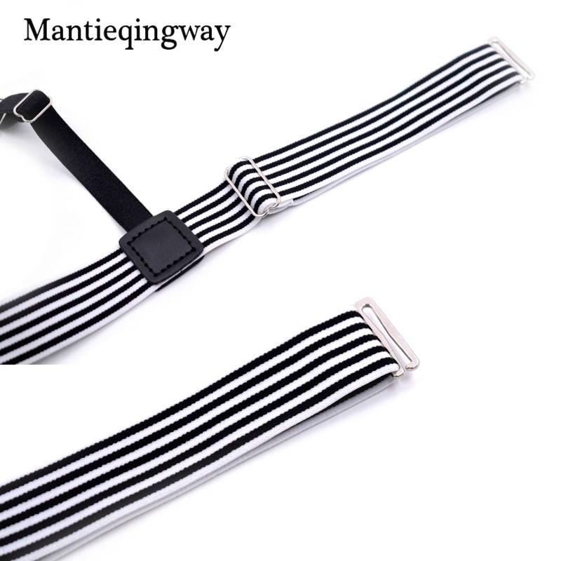 Men's Accessories Good Mantieqingway Mens Shirt Belt Leg Tirantes Hombre Mens Stocking Suspensorio Holders Stays Crease-resistance Adjustable Garters