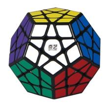 купить QIYI Megaminxeds Magic Cubes Stickerless Speed Professional 12 Sides Puzzle Cubo Magico Educational Toys For Children по цене 650.66 рублей