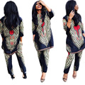 Mulheres Roupas Vestidos Africanos Para As Mulheres Tradicionais Novo Estilo Africano Da África é Uma Grande Alegria E Serviço Nacional Vento Dois conjuntos