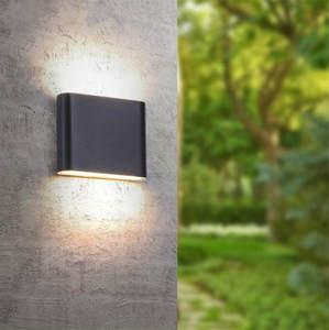 Wall-Lamp Down-Dual-Head IP65 Outdoor Waterproof Modern Indoor/outdoor Aluminum Decor-Up
