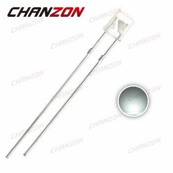 Прямоугольная Светодиодная лампа, 100 шт., 2x3x4, белая, прозрачная, 20 мА, постоянный ток, 3 в, 2*3*4 мм