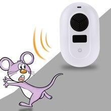 220 В 5 Вт Электронный Ультразвуковой Мышь Убийца Мышь Таракан Ловушка Отпугиватель Комаров Насекомых Крыс Пауки Управления США/ЕС Plug