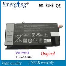 11.4 v 51.2wh nueva batería original del ordenador portátil para dell v5560 v5460 vh748 v5470 v5480 vh748 14-5439 ultrabook
