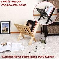 100 Solid Wood Magazine Racks Shelves Living Room Decoration Office Furniture Floating Book Bookshelf Book Shelf