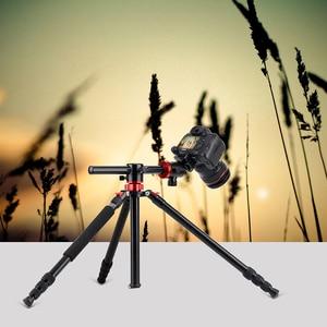 Image 2 - ZOMEI Портативный штатив для камеры, профессиональный алюминиевый монопод, 4 секции, Трипод с шаровой головкой 360 градусов для DV DSLR
