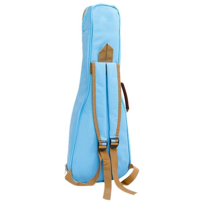 FGGS-Waterproof Ukulele Bag Case Backpack Ukelele Guitar Accessories Blue 26/27 inch - 75*28cm