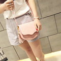 LEFTSIDE Tassel PU Leather Mini Bag Cute Crossbody Teenager Bags For WomenSmall Designer Brand Women's Messenger Black Color