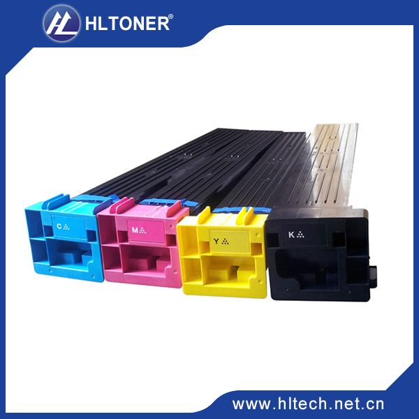 Compatible Konica Minolta TN611 K/Y/M/C toner kit for bizhub C451 C550 C650 1pcs/lot developer unit dv512 compatible konica minolta bizhub c224 c284 c364 c454 c554 bk m c y 4pcs lot