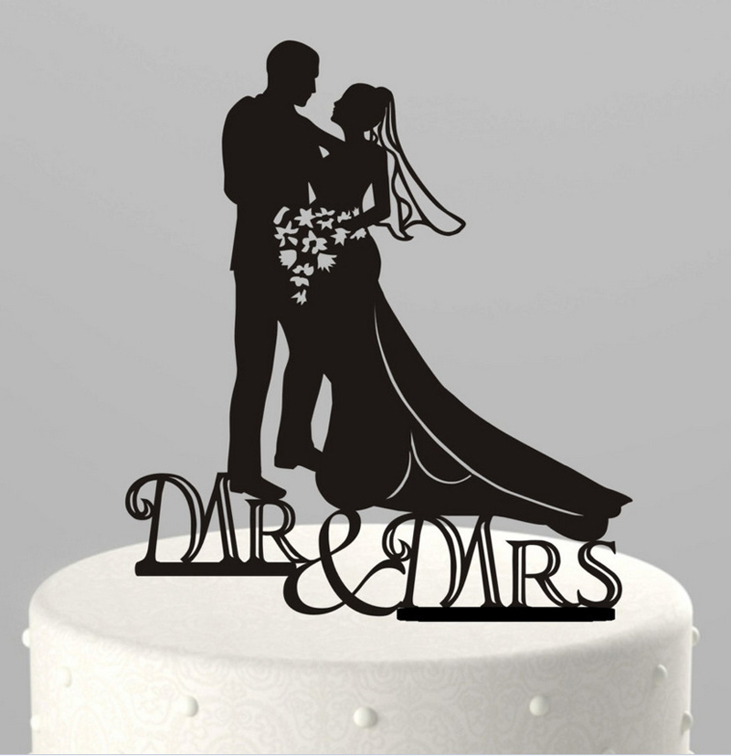 Wedding Decorations Cake Themes Design Topper Acrylic The Mr Mrs Oh007 In Decorating Supplies From Home Garden On Aliexpress
