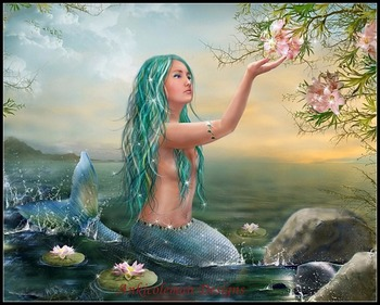 Needlework for embroidery DIY DMC High Quality - Counted Cross Stitch Kits 14 ct Oil painting - Mermaid Ariel
