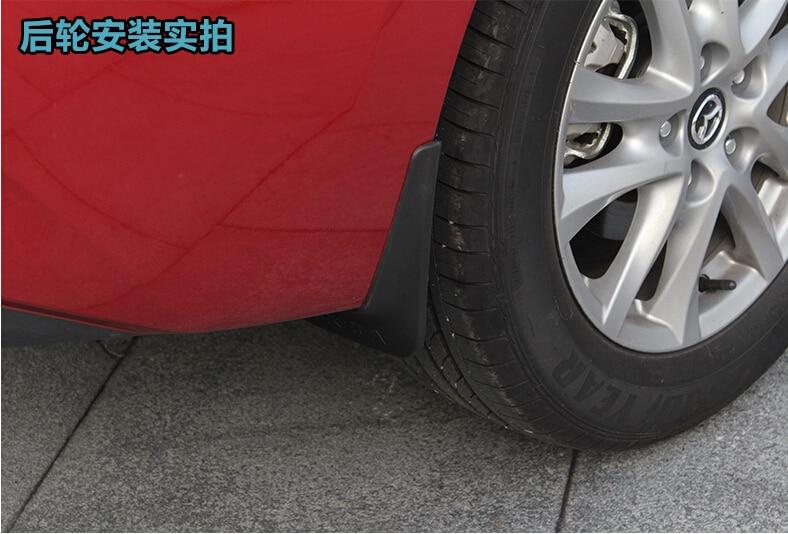 Mud Flaps Splash Guard For New MAZDA 3 AXELA Sedan Hatchback 2014  Mudgurads In Mudguards From Automobiles U0026 Motorcycles On Aliexpress.com |  Alibaba Group