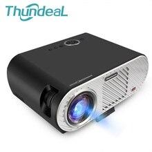 Thundeal 3200 люмен проектор GP90 мультимедийный плеер Бимер 720 P LED ЖК-дисплей проектор для домашнего Театр Конференц-зал HDMI VGA USB AV