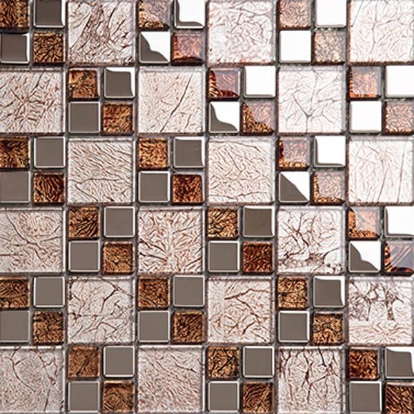 making glass mosaics kitchen tiles design decorative wall ...