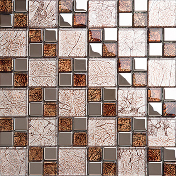 making glass mosaics kitchen tiles design decorative wall art tile ...