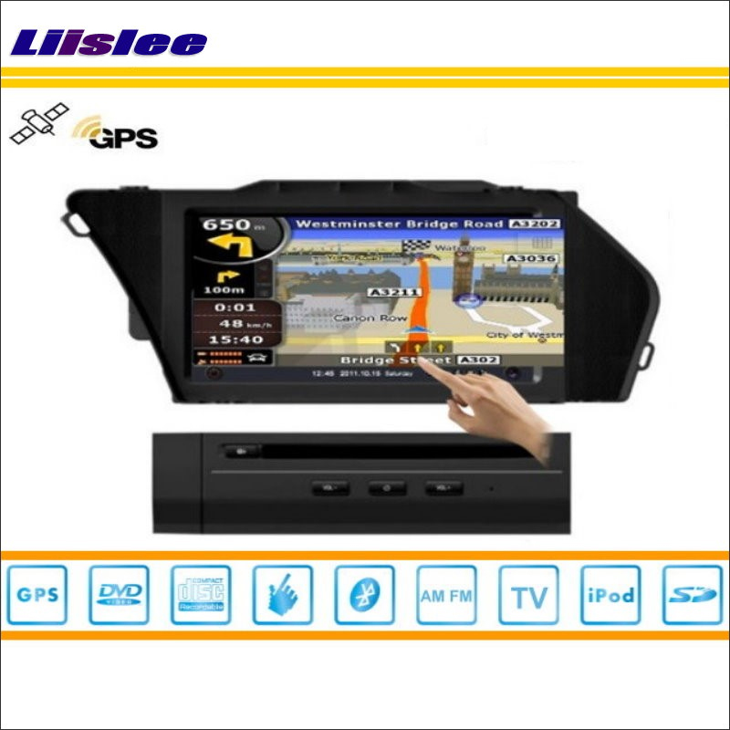 Liislee For Mercedes Benz GLK Class X204 2008~2014 Car DVD Player GPS Navigation Radio iPod BT HD Screen S160 Multimedia System