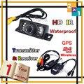 2014 Hot Selling Wireless for Car GPS With 7 LEDs IR Car Rear View Camera Waterproof Reversing Camera Parking Sensor,freeship