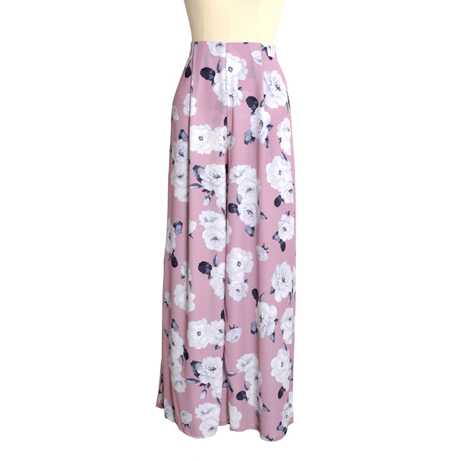 New 2018 Women Wide Leg Pants Printing Loose Casual Summer Hot Sale Sexy Trousers Dess Pantalones Plus Size 2XL