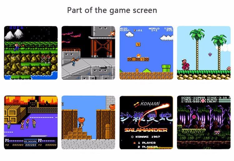 Nes Mini Tetris Video Game Console Electronic Handheld Games Retro Brick Game Consola De Jeu 2016 3.2Inch Video Games Player (10)