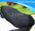 El envío libre de la motocicleta cubierta del asiento protector solar impermeable cojín del aislamiento de calor proteger protector solar fresco previene toma el sol en el asiento