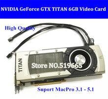 DHL EMS FREE High Quality GTX TITAN 6GB GDDR5 font b Graphic b font Video font
