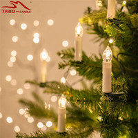 Remote Control Flamleess Candle Lights Christmas Tree Decorations Led Component For Color Changing Candle 10 Pcs