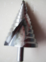 6 60mm Spiral Groove Step Drill Bit Reamer Reaming Drilling Hole Cut Twist Drill For Iron