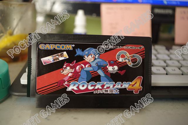 New arrival 8 bit 60 pinsTV  game card Megaman Minus World with battery memory
