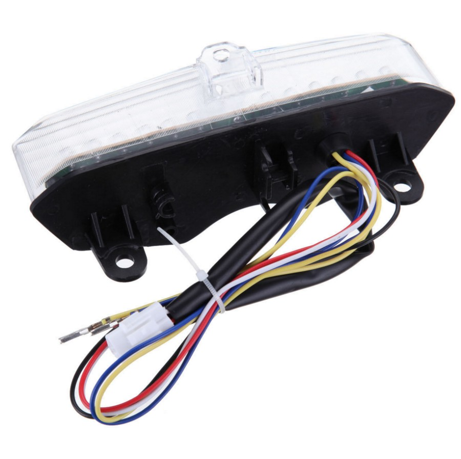 Motorcycle Smoke Led Taillights Brake Tail Lights Integrated Turn R6 Signal Wiring Diagram Signals For Yamaha Yzf 2003 2004 2005 On Alibaba Group