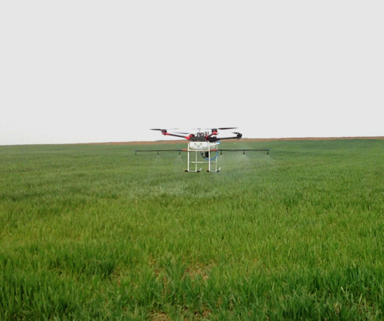 Multi axis Agricultural Protection Drone,4 axis Spray Pesticide UAV Sprinkling Pesticide Helicopter