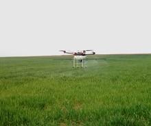 Multi-axis Pertanian Perlindungan Drone, 4-axis Semprot Pestisida Pestisida Penyiraman Helikopter UAV