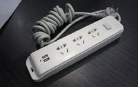 2015 Brand New Xiao Mi Power Strip 2 USB Charging Ports Mi Power Plug US & AU Standard Plug Multi Adapter Smart Mi USB
