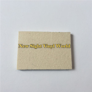 Image 2 - 100 pcs/Lot Custom LOGO Car Wrapping Vinyl Film Installation Tool Wool Squeegee