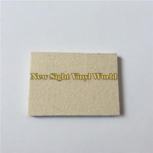 Image 2 - 100 יח\חבילה מותאם אישית לוגו רכב גלישה ויניל סרט התקנה כלי צמר מגב