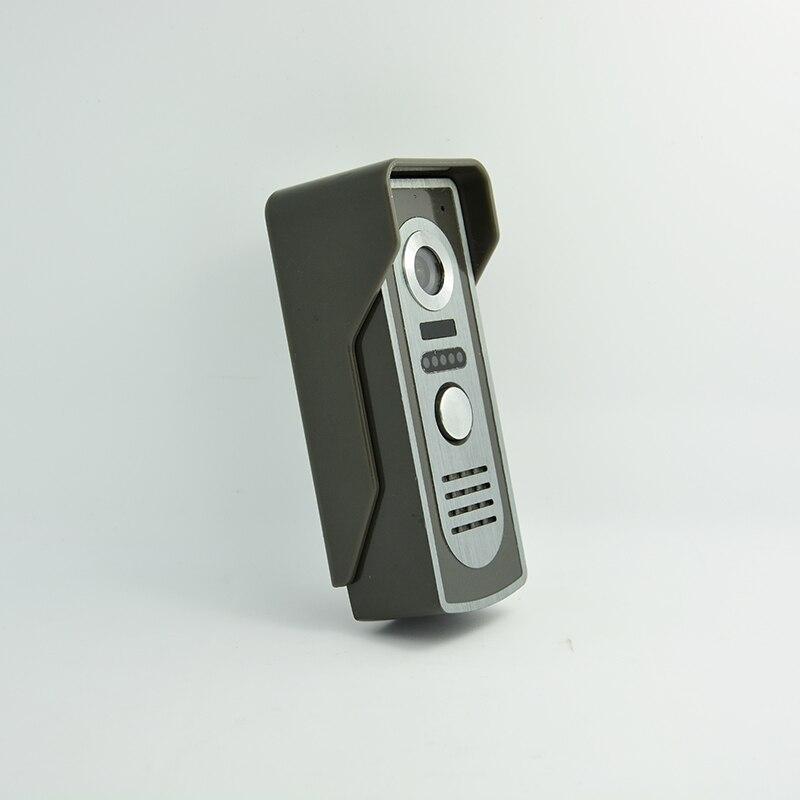 1 шт.) Видеодомофоны вход машина видео-телефон двери открытый телефон для хранения фотографий ИК Камера системы доступа ночью видно