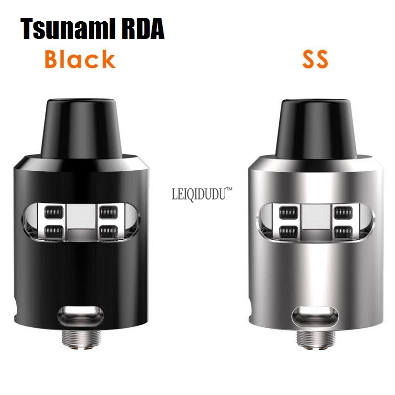 2017 newest Tsunami RDA Clone Adjustable Airflow Atomizer with Velocity style Deck Tank Electronic Cigarette Atomizer