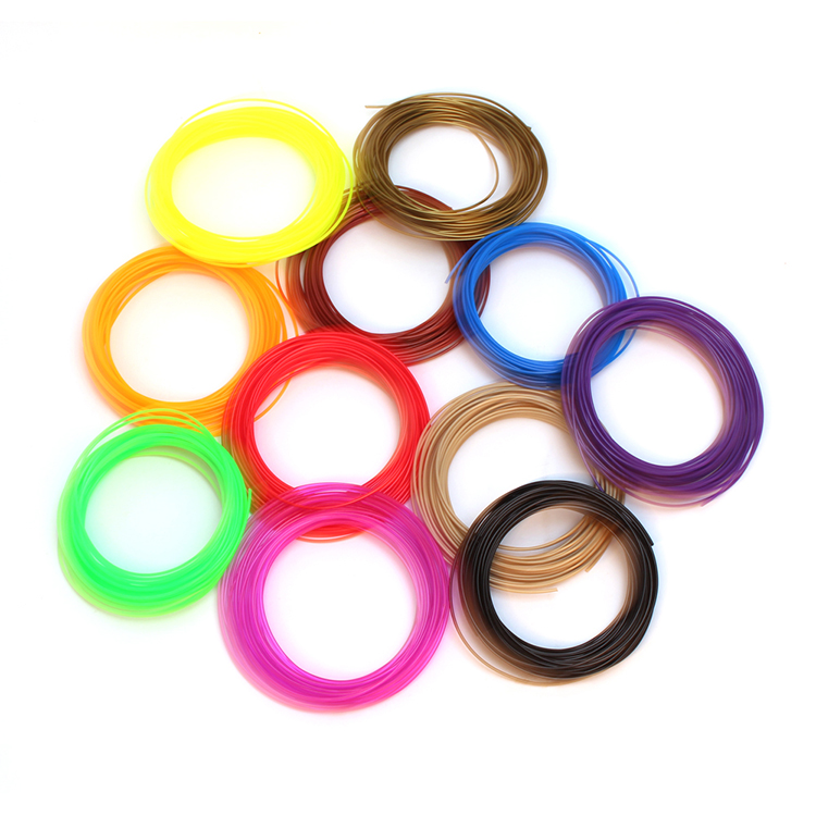 3D Printer Filament 1.75mm Plastic materials for 3D pen Environmentally friendly kinds of colour type for you choose 3d printer filament brown colour environmentally friendly plastic materials for 3d printer