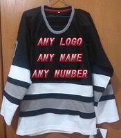 Fábrica OEM marca Camisetas de hockey personalizado cualquier insignia/Nombre/Número/color/tamaño proveedor equipo de diseño precio al por mayor