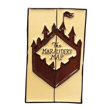 Mauraders булавка для карты