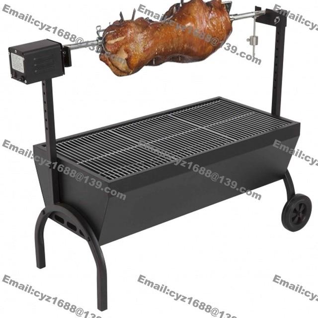 Free Shipping 85cm Commercial Hog Roast Machine Bbq Spit