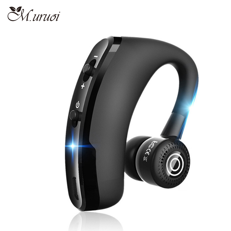 M.uruoi Cordless Hands Free Headphone Earpiece Bluetooth kulakl k Noise Cancelling Earphone Headset With Mic For Xiaomi iphone awei a950bl noise cancelling bluetooth headphone wireless earphone cordless headset with microphone casque earpiece for phones