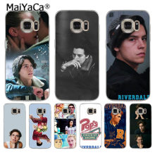 MaiYaCa American TV Riverdale Series Cole Sprouse Coque Shell Phone Case for Samsung S5 S6 S7 Edge S8 Plus S6 Edge Plus S3 S4(China)