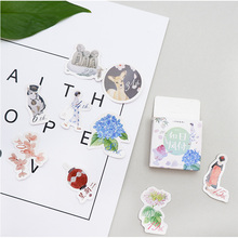 45 pcs/pack Japanese Style paper sticker DIY diary album decoration stickers scrapbooking planner label Scrapbook