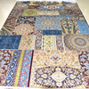 Mingxin 6x9 Feet Joint Design Large Carpet Hand Knotted Turkish Silk Rugs For Living Room Area