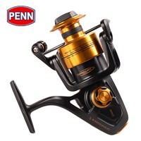 Original PENN SPINFISHER V SSV 3500 10500 Spinning Fishing Reel 5+1BB Full Metal Body HT 100 Saltwater Boat Fishing Reel Wheel