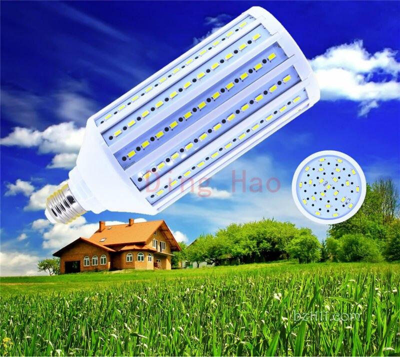 1 шт./лот E27 E26 B22 E40 5730 60 Вт 176 светодиодный 5730 теплый белый, холодный белый Светодиодный лампа Светодиодная лампа в форме кукурузы света 85-265 V