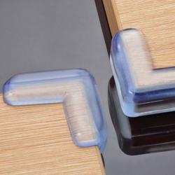 4 шт Детские младенческие силиконовые защитное устройство стол угловая защита от детей для предупреждения столкновений край уголки гварде...